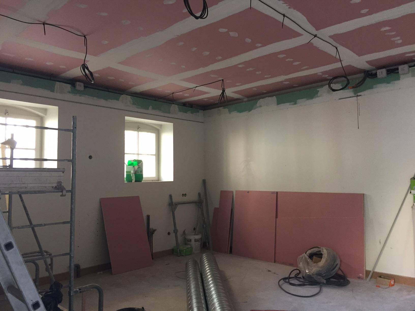 Faux Plafond Isolation Fleury Sas